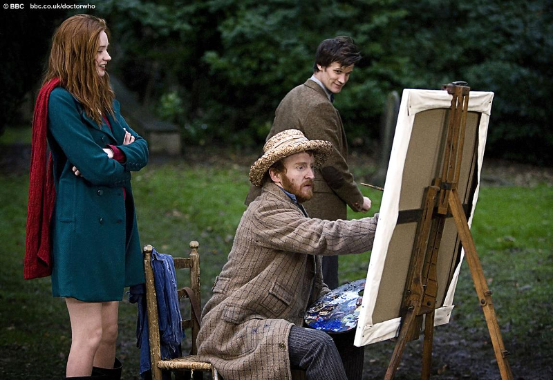 van Gogh, the Doctor, and Amelia